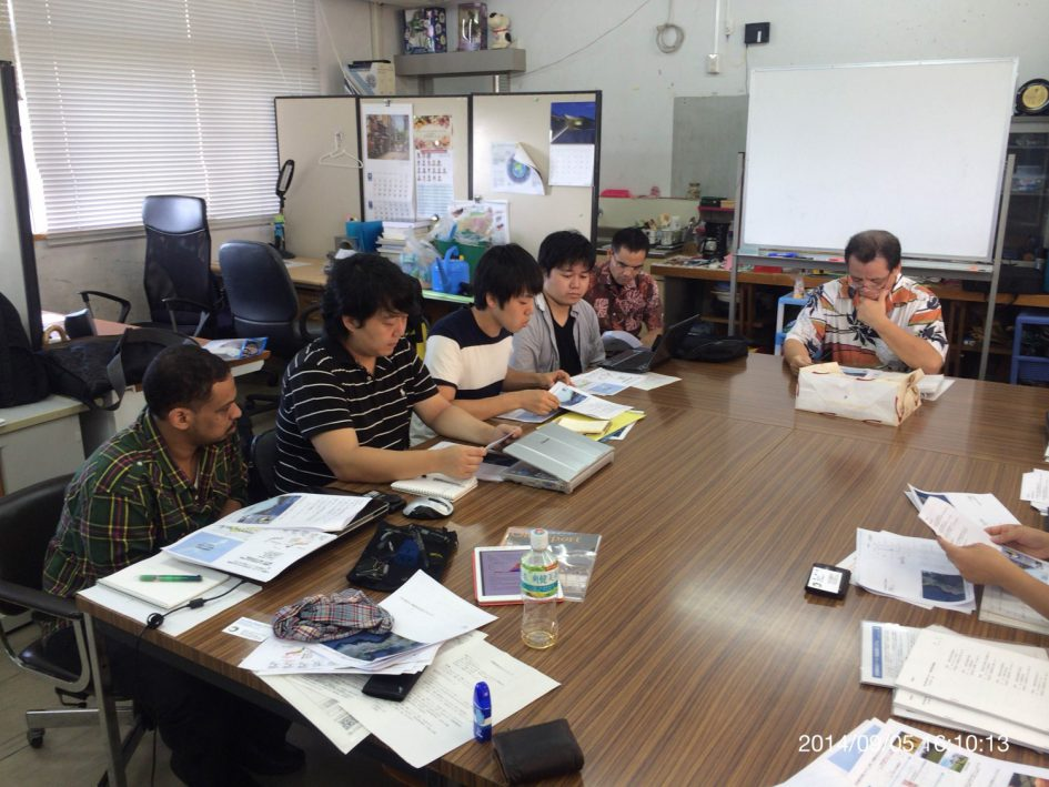 Meeting with Prof Tsutsumi