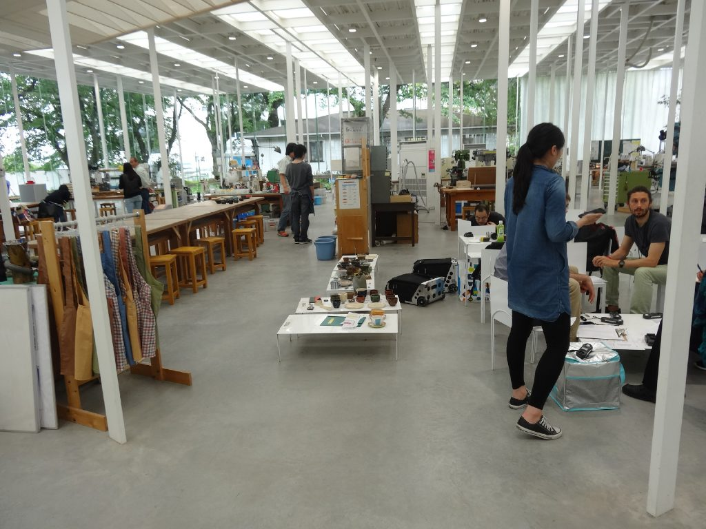 KAIT Pottery and Crafts zone
